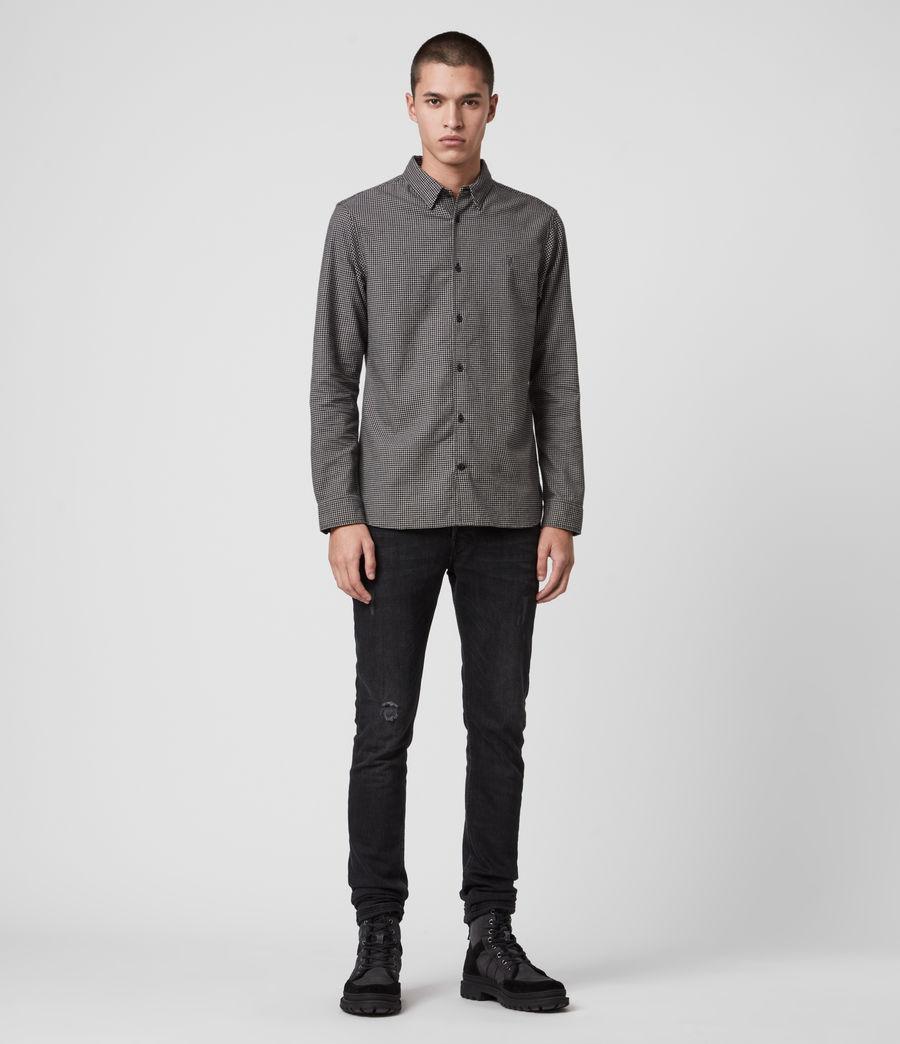 Hommes Vander Shirt (black) - Image 3