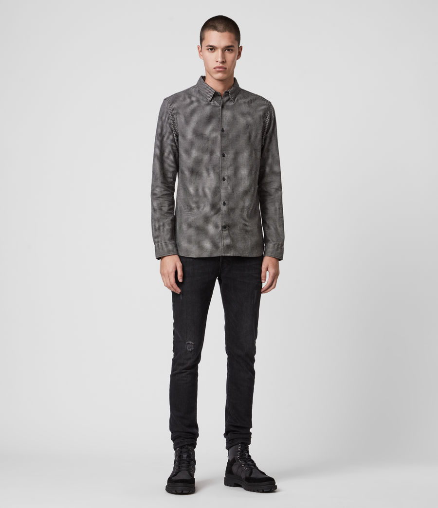 Mens Vander Shirt (black) - Image 2