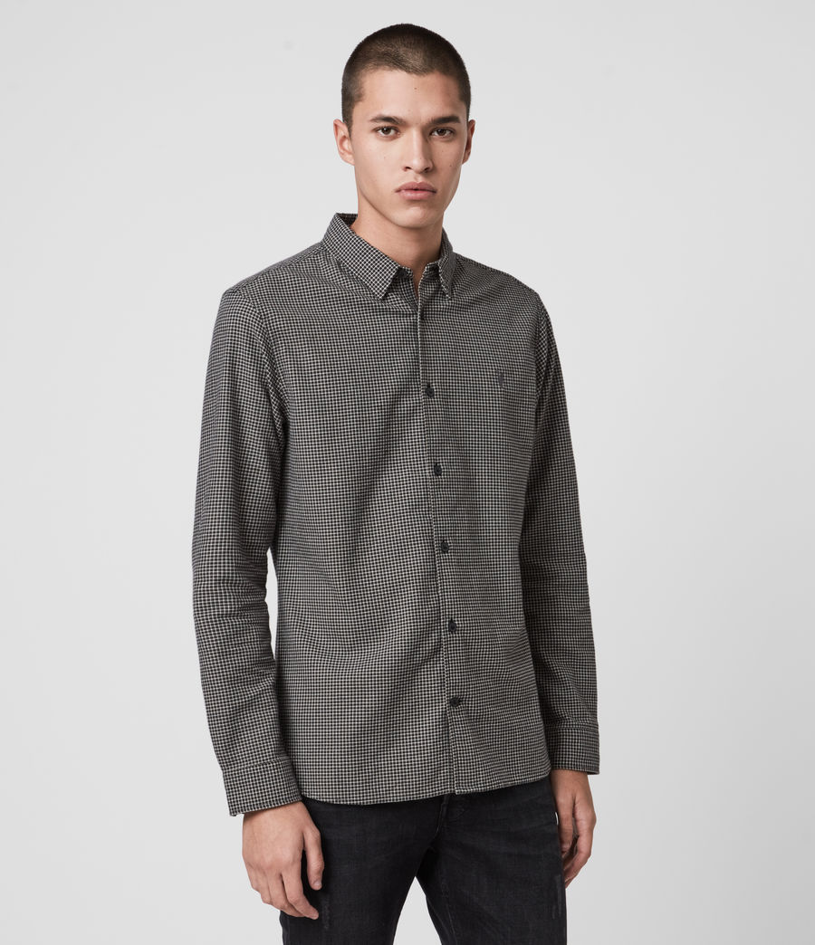 Men's Vander Shirt (black) - Image 3