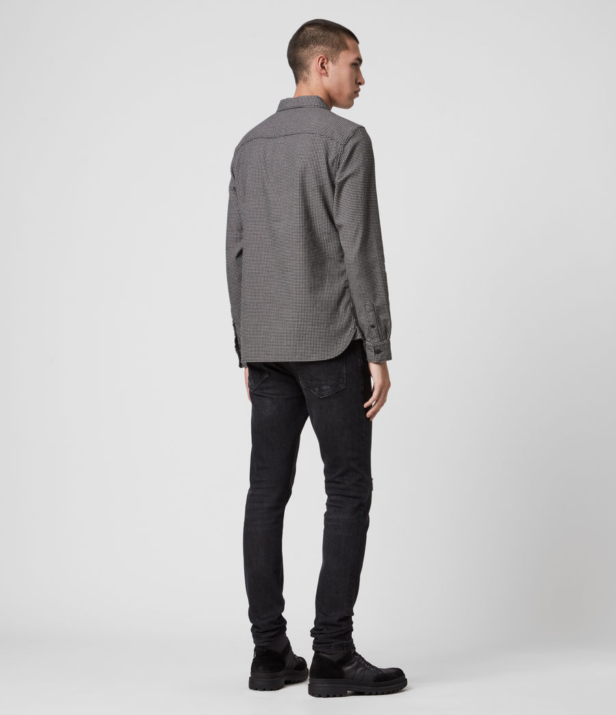 Hommes Vander Shirt (black) - Image 5