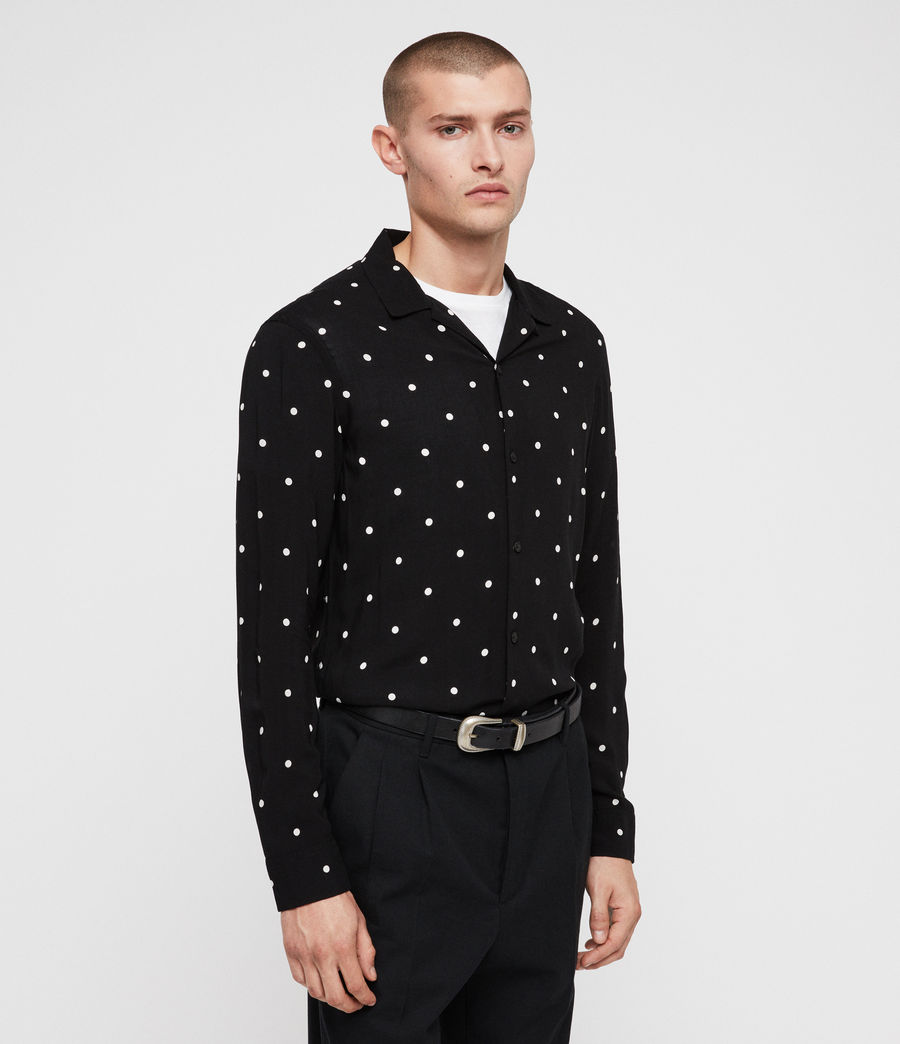 Mens Kuta Shirt (black) - Image 5