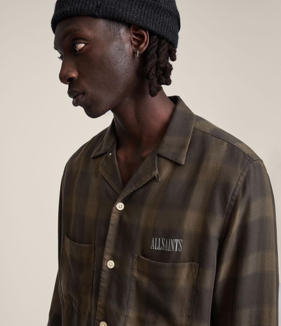 Men's Erieville Shirt (brown) - Image 2