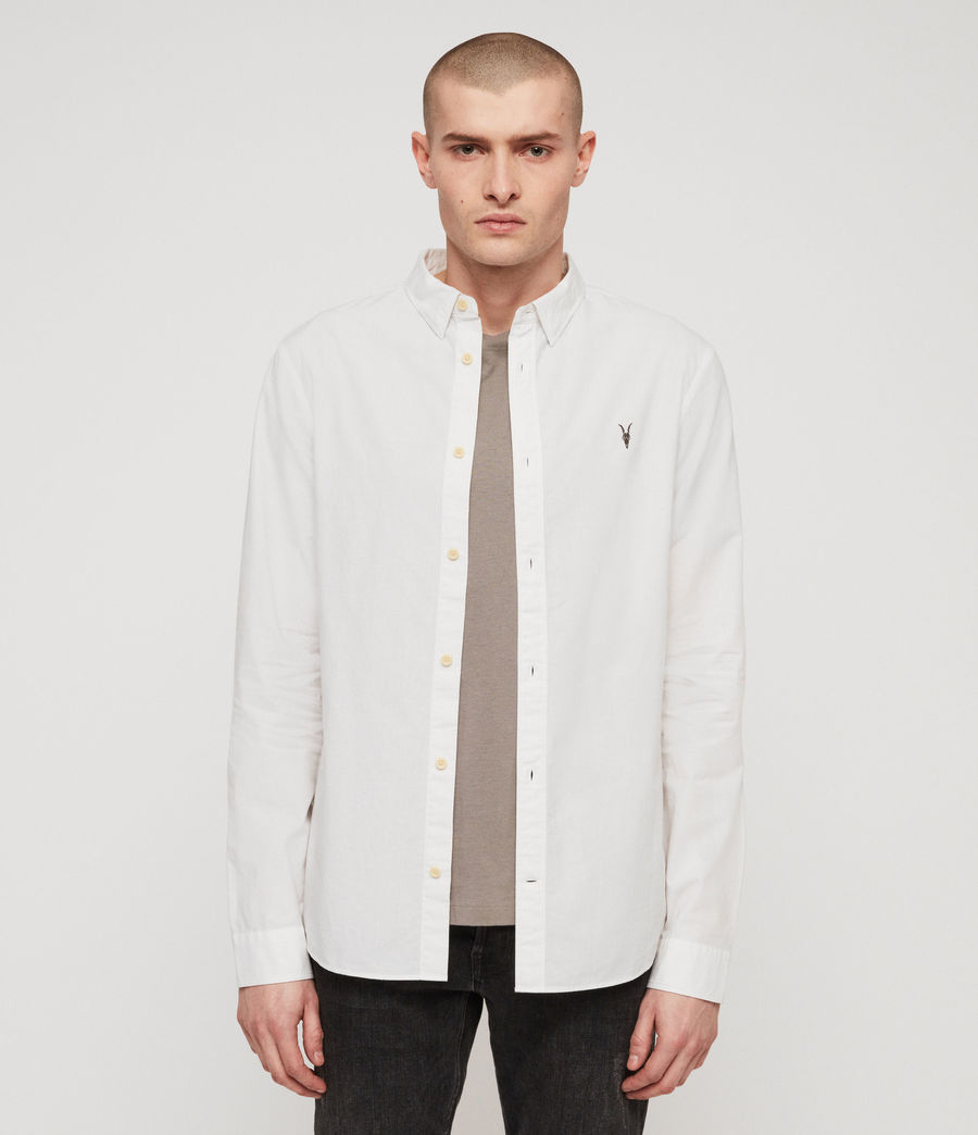 Mens Wymer Shirt (light_grey) - Image 1