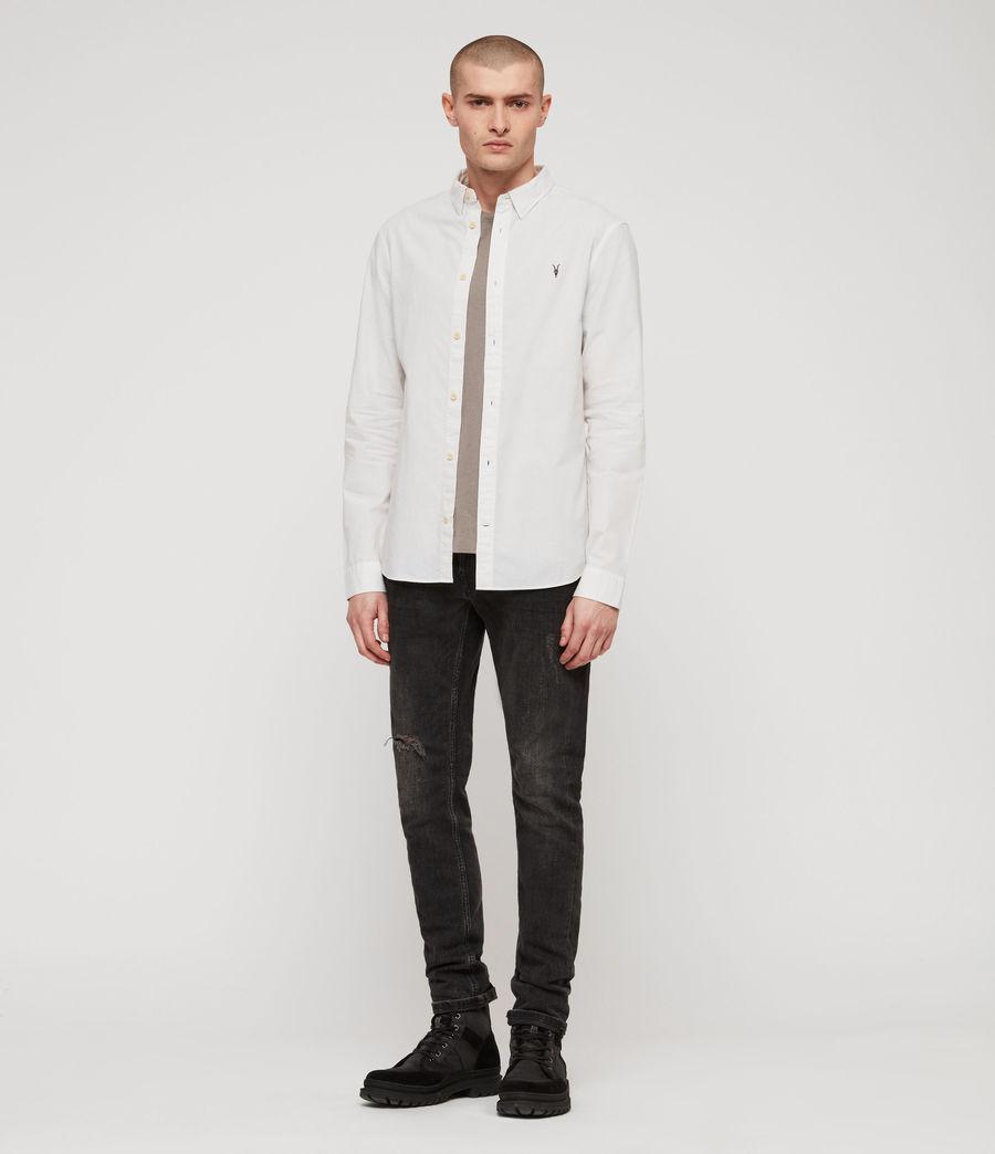 Hombre Camisa Wymer (light_grey) - Image 2