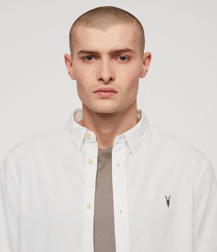 Mens Wymer Shirt (light_grey) - Image 3