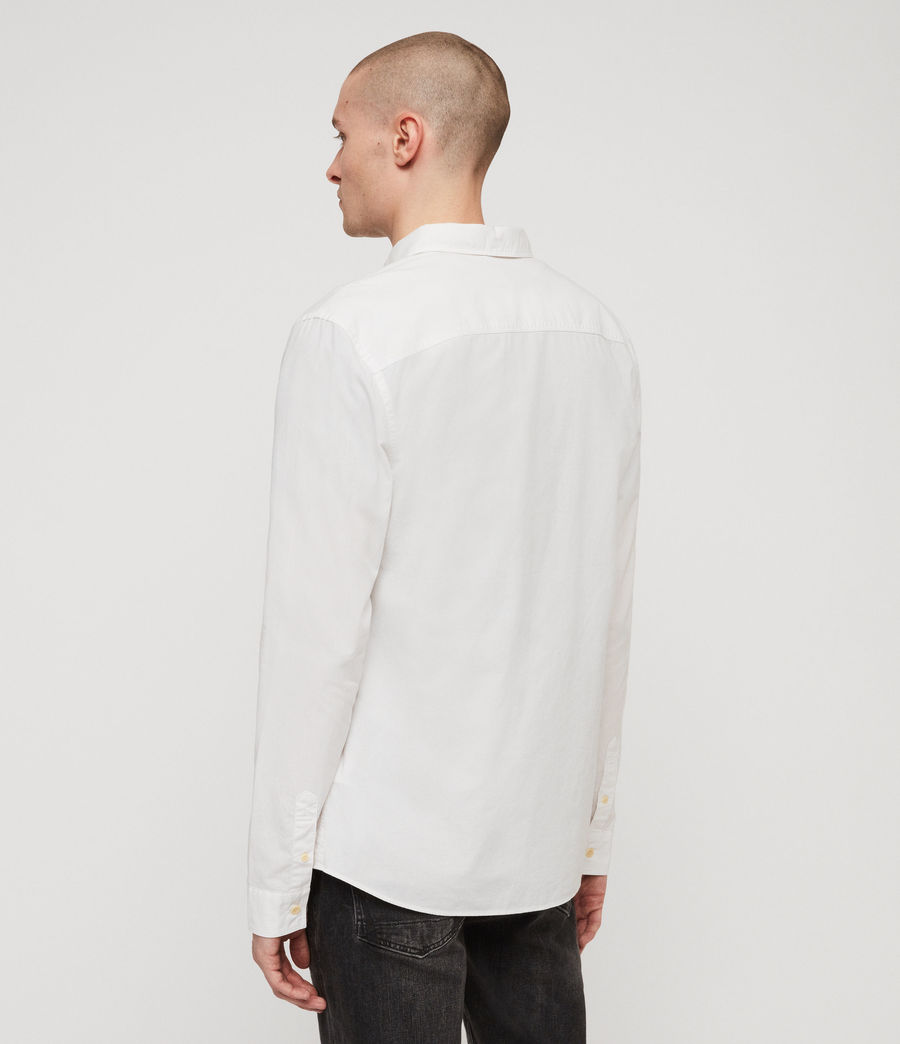 Mens Wymer Shirt (light_grey) - Image 4