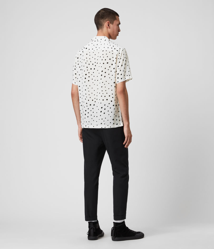 Men's Albedo Shirt (ecru_jet_black) - Image 4