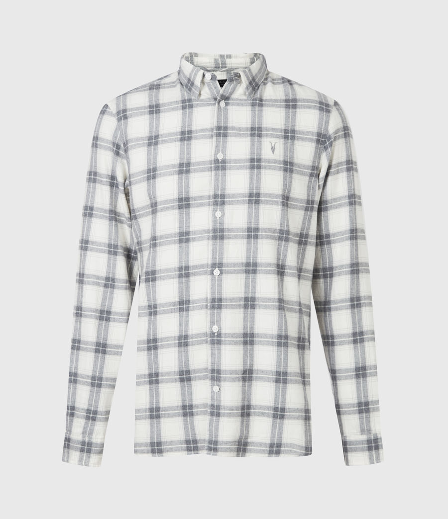 Mens Aviston Shirt (ecru) - Image 2