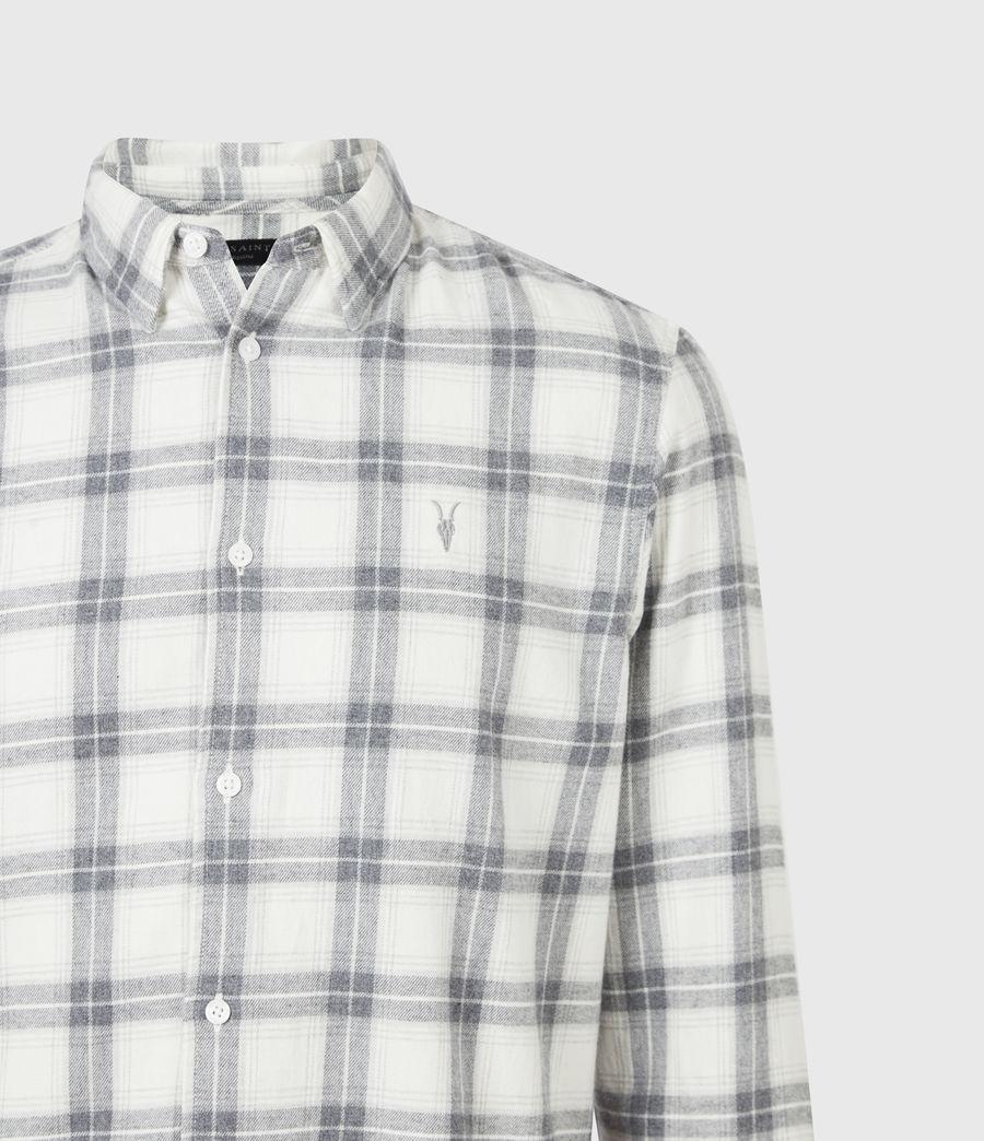 Mens Aviston Shirt (ecru) - Image 5