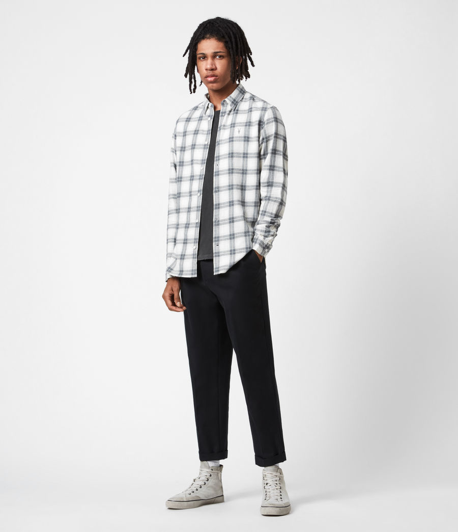 Mens Aviston Shirt (ecru) - Image 6