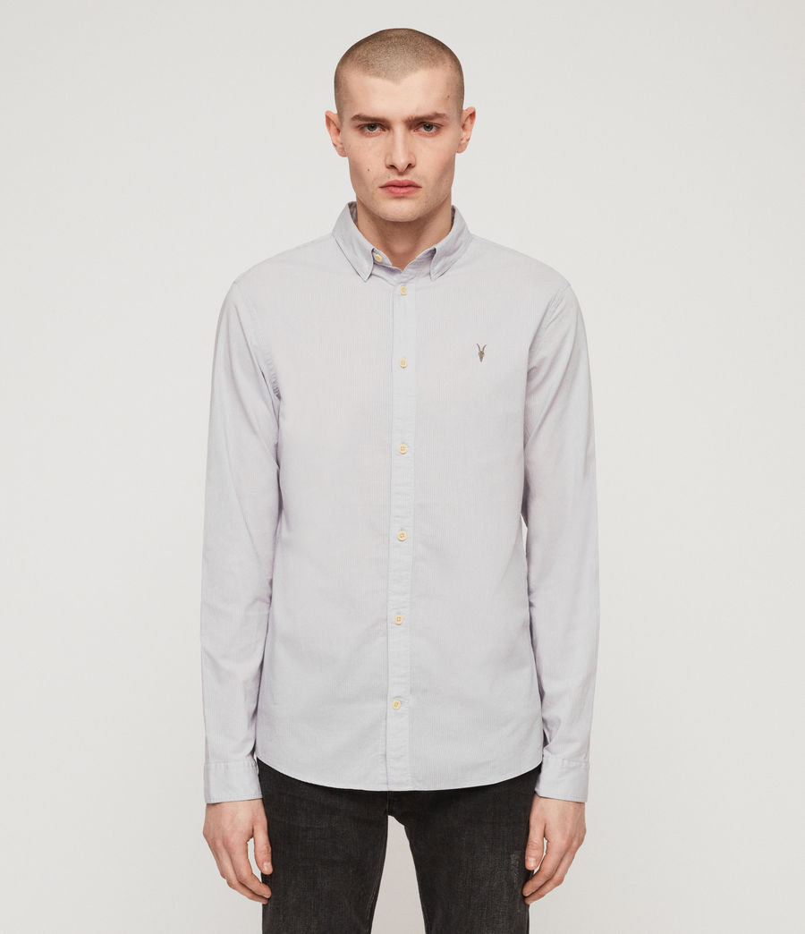 Hommes Lester Shirt (light_grey) - Image 1