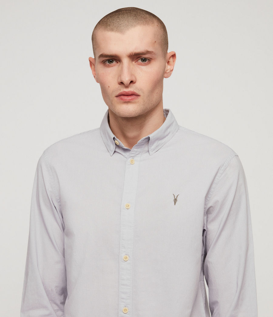 Hommes Lester Shirt (light_grey) - Image 2