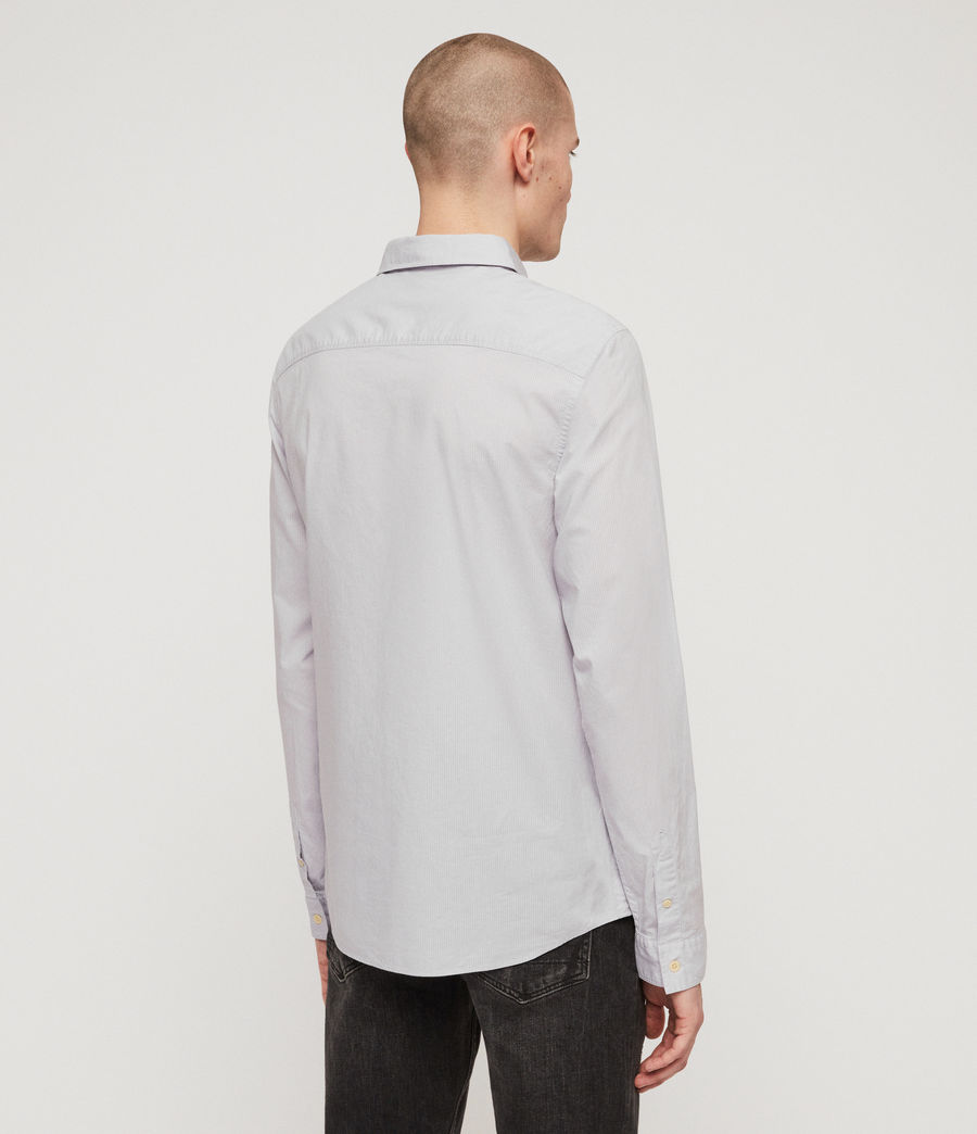 Hommes Lester Shirt (light_grey) - Image 5