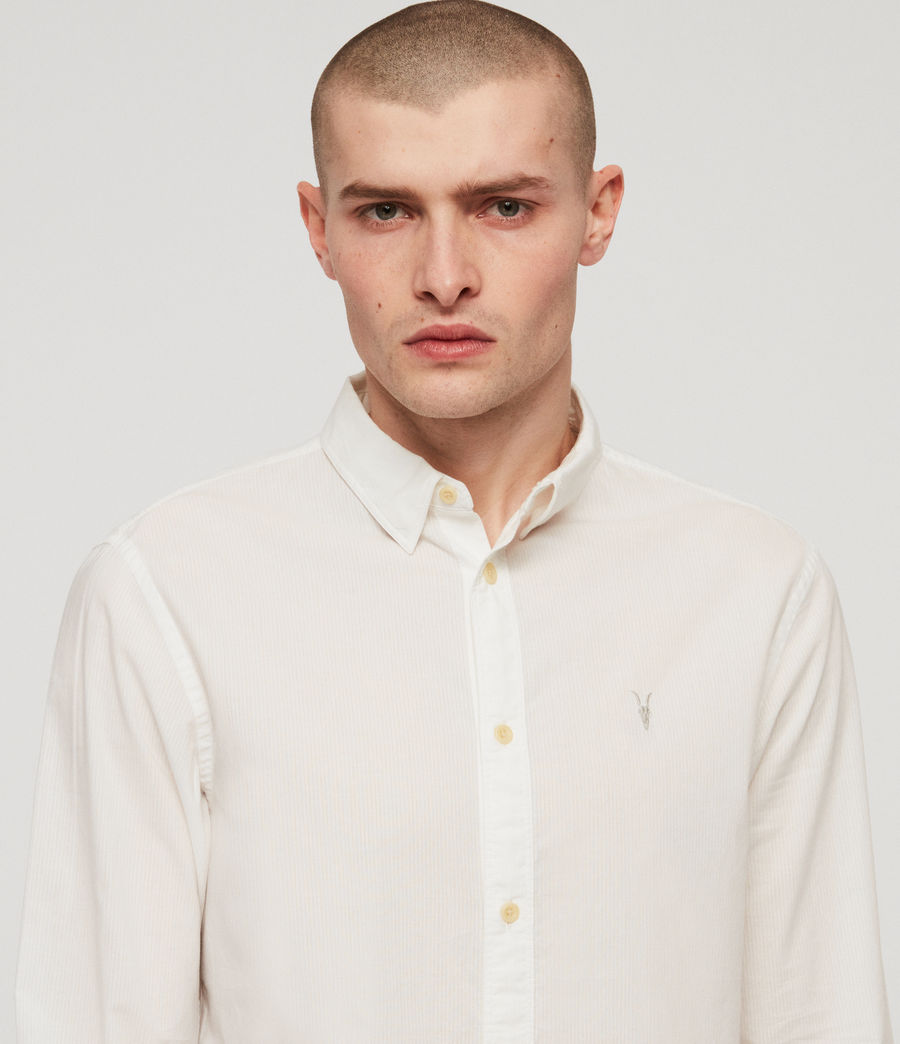 Men's Lester Shirt (chalk_white) - Image 2