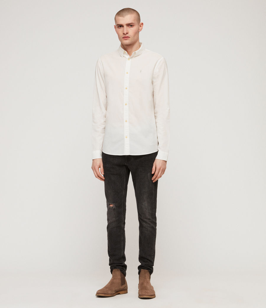 Men's Lester Shirt (chalk_white) - Image 3