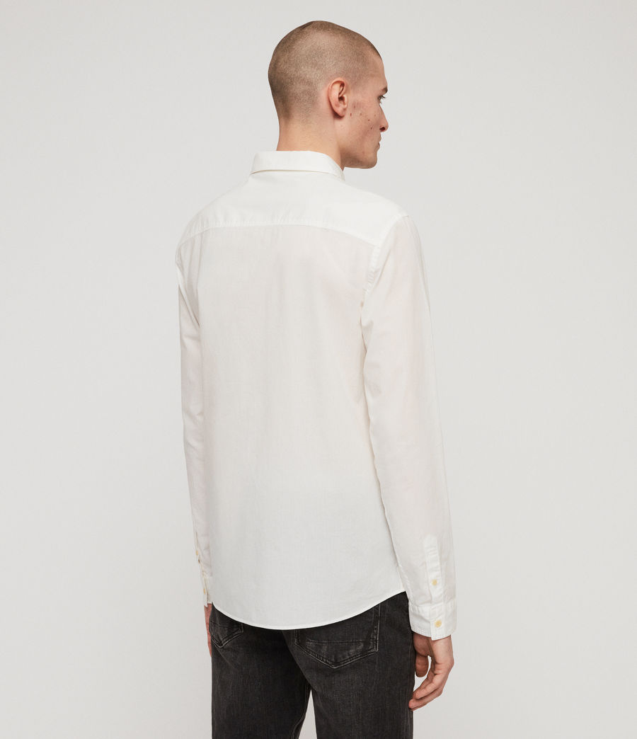 Men's Lester Shirt (chalk_white) - Image 4