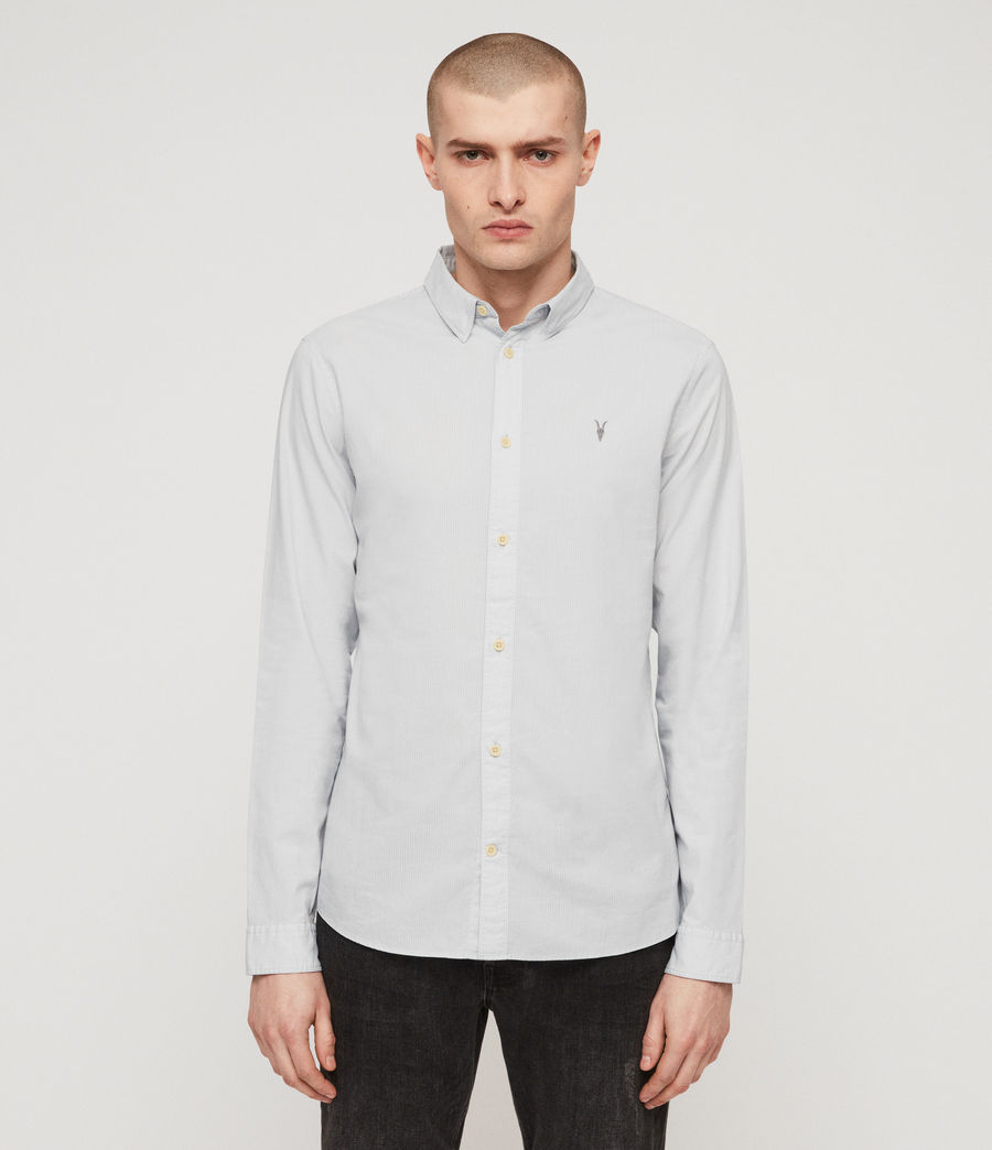 Men's Lester Shirt (sol_blue) - Image 1
