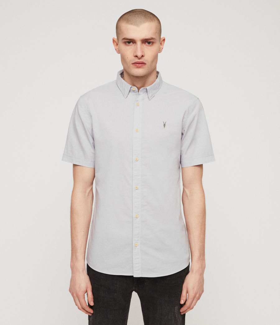 Men's Lester Shirt (light_grey) - Image 1
