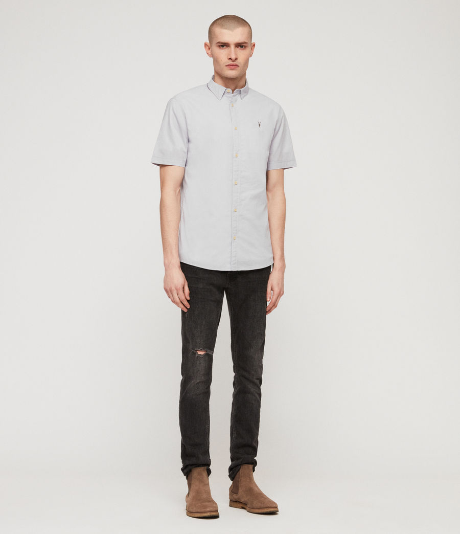 Men's Lester Shirt (light_grey) - Image 3