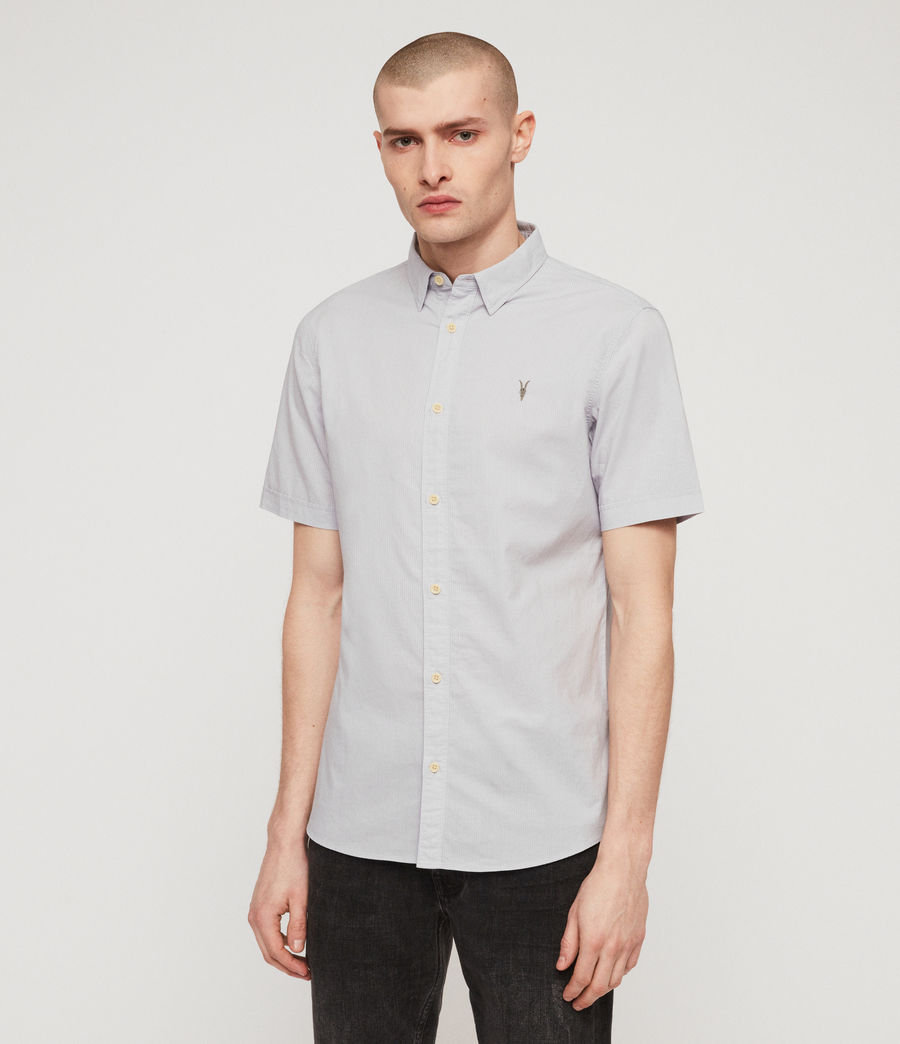 Men's Lester Shirt (light_grey) - Image 4