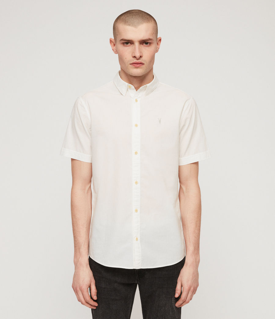 Men's Lester Shirt (chalk_white) - Image 1