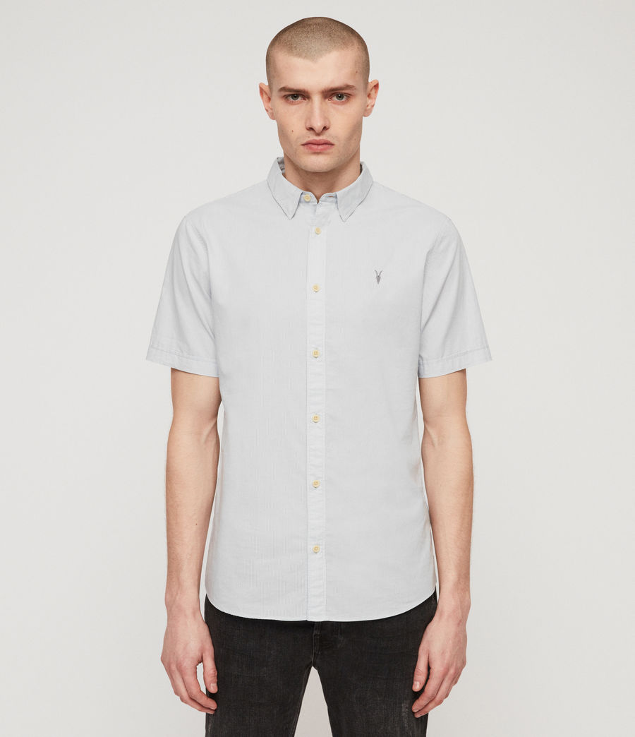 Mens Lester Shirt (sol_blue) - Image 1