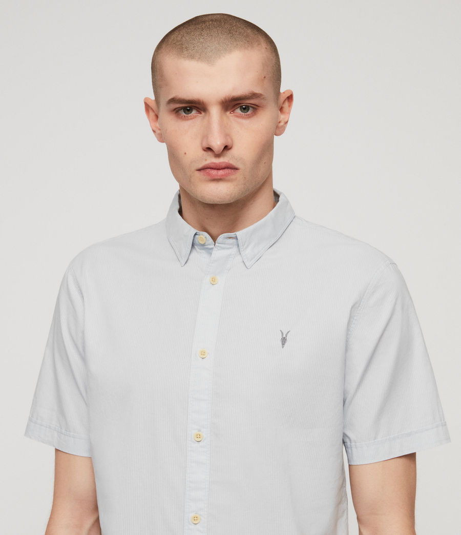Mens Lester Shirt (sol_blue) - Image 2