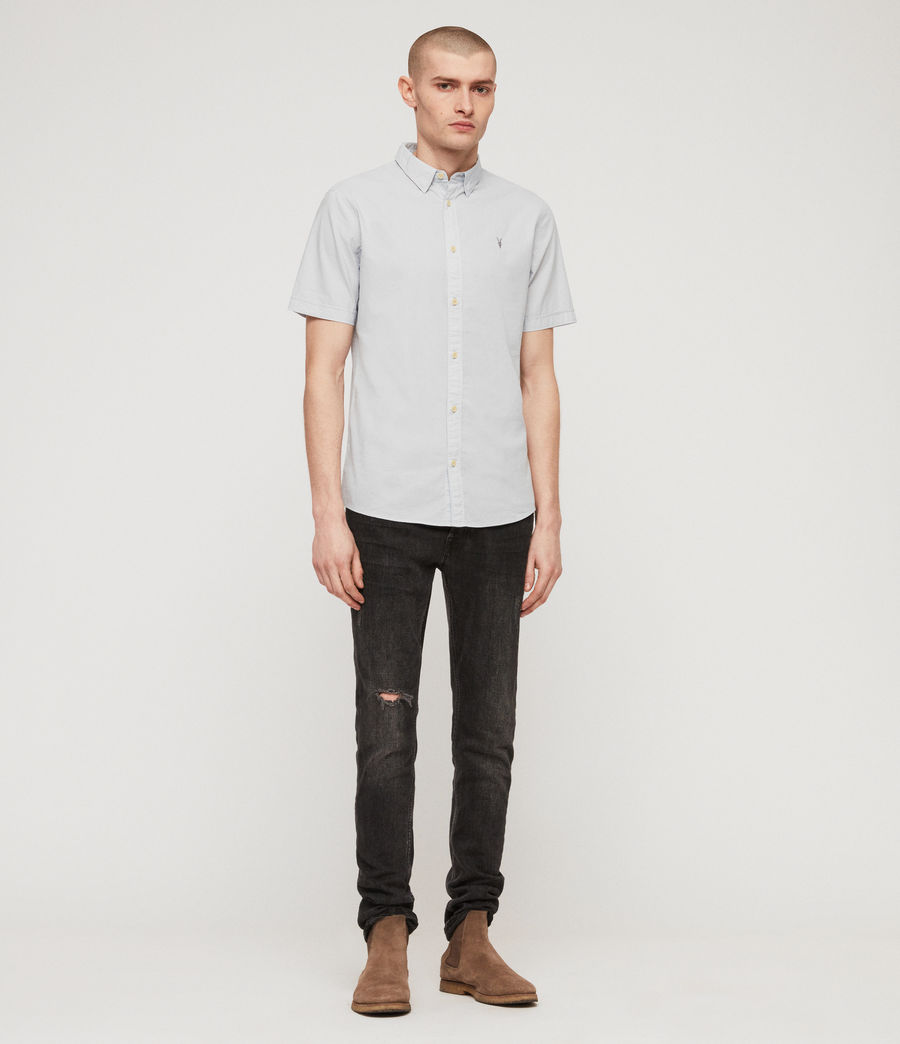 Mens Lester Shirt (sol_blue) - Image 3