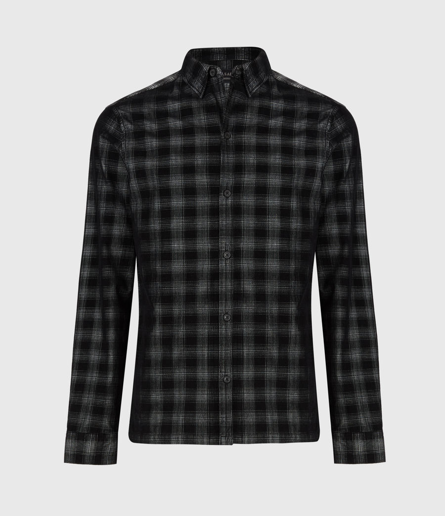 Herren Pinehurst Long Sleeve Hemd (black) - Image 2