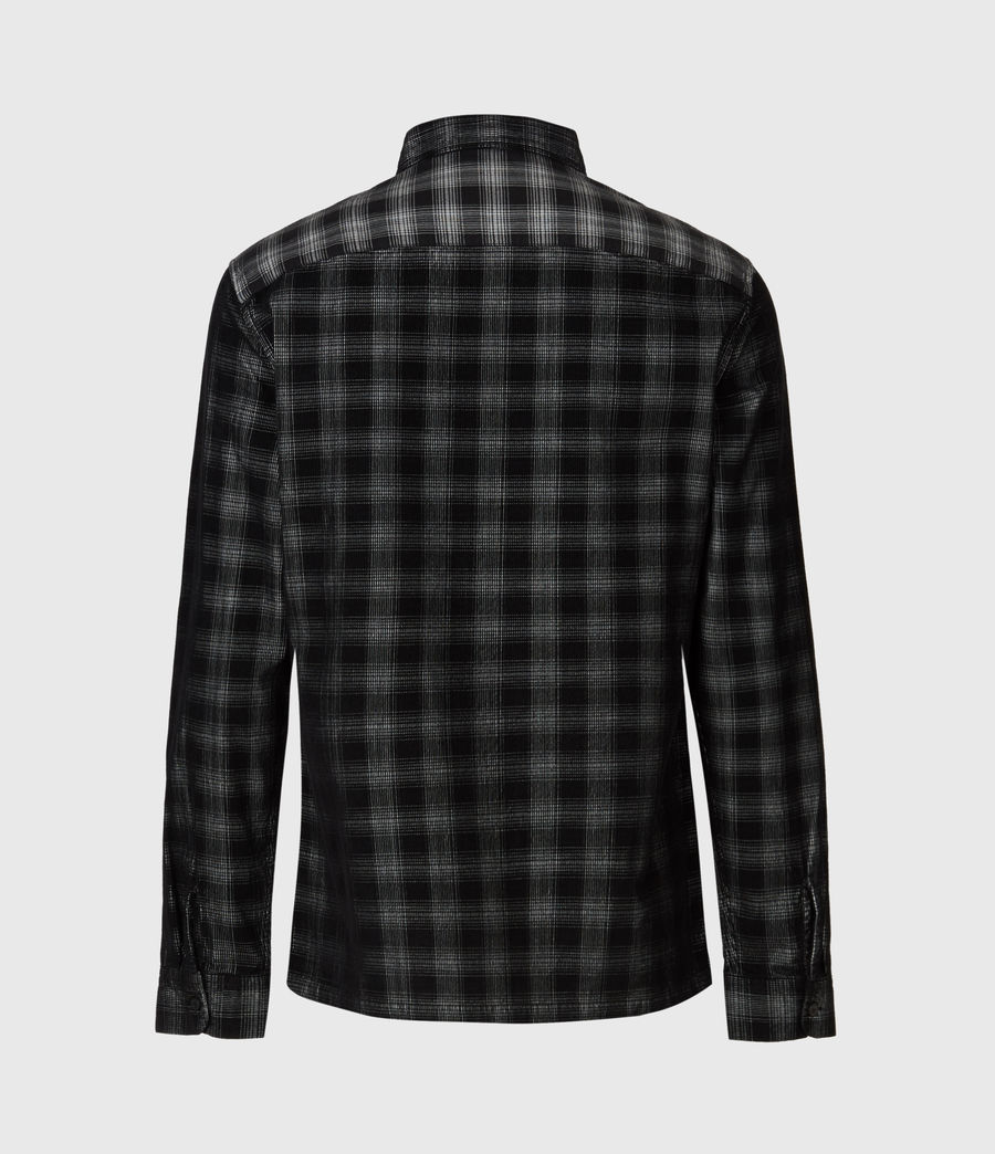 Herren Pinehurst Long Sleeve Hemd (black) - Image 3