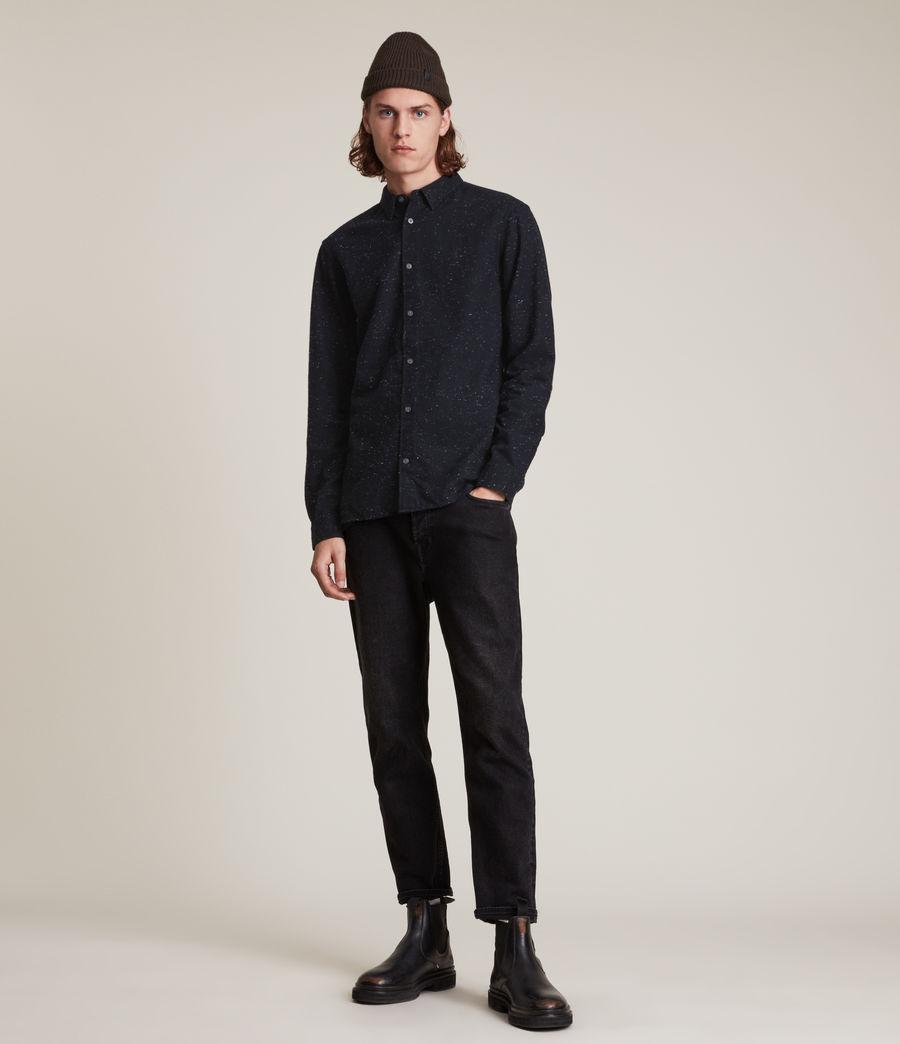 Hommes Elmira Shirt (black_ecru) - Image 3