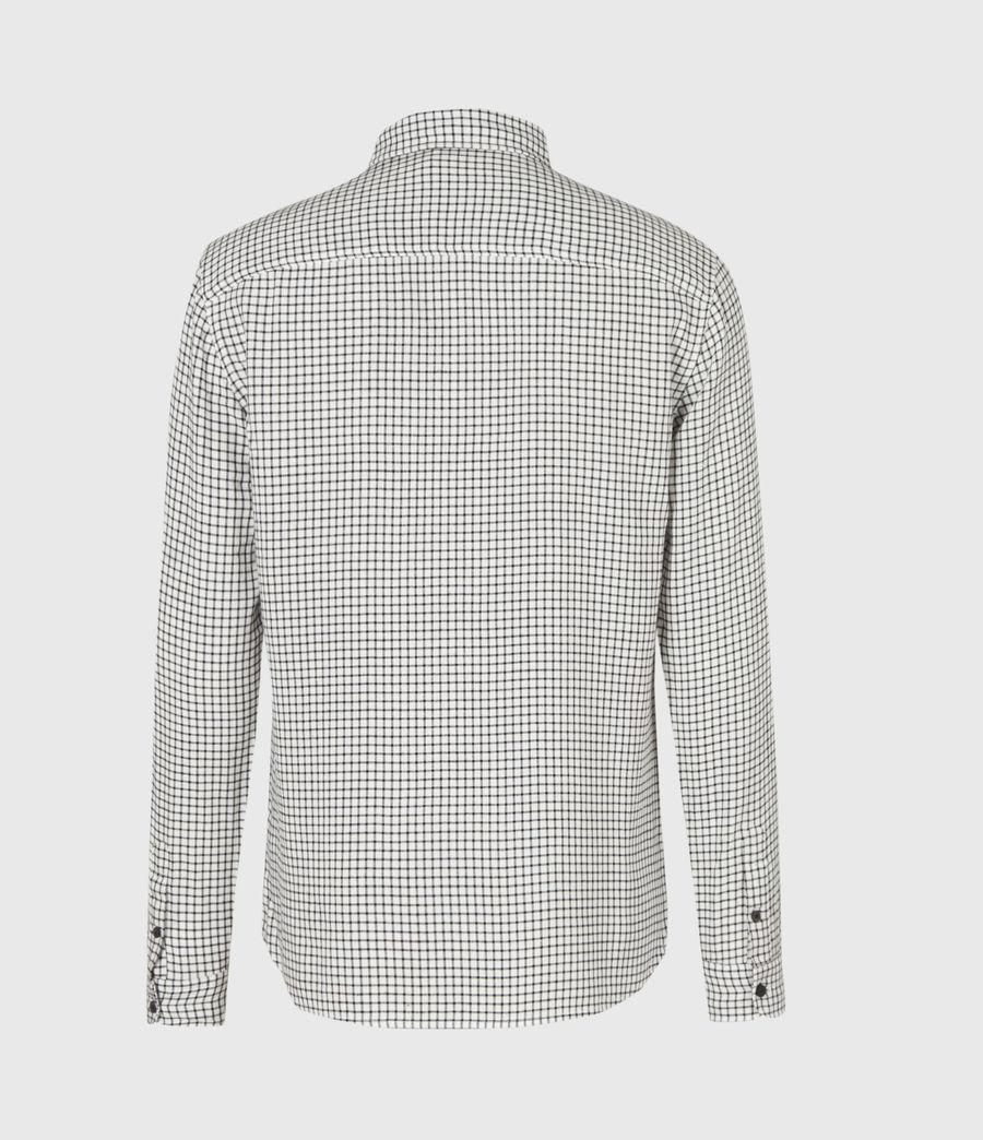 Men's Tilden Shirt (ecru_black) - Image 3