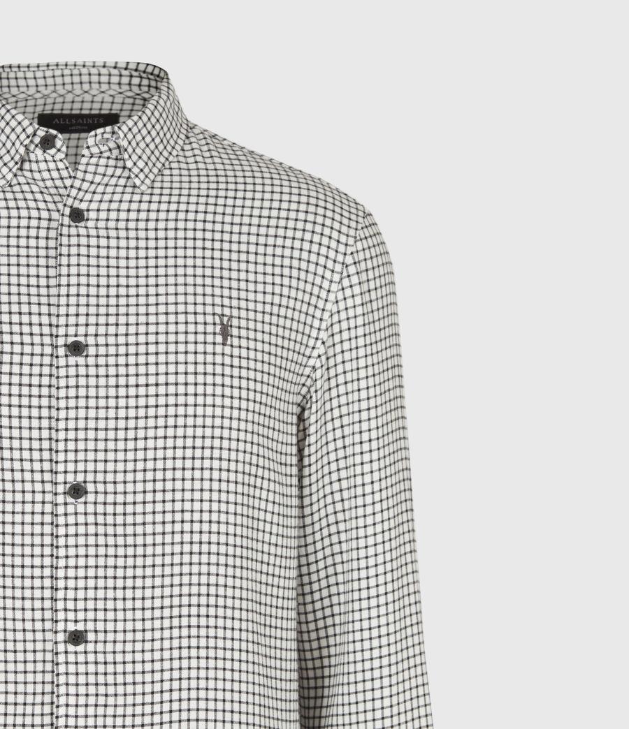 Men's Tilden Shirt (ecru_black) - Image 5