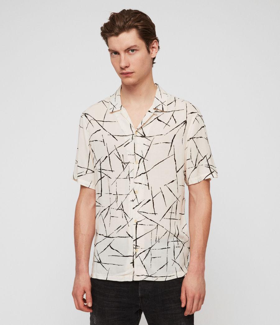 Hombre Camisa Burma (ecru_white) - Image 1
