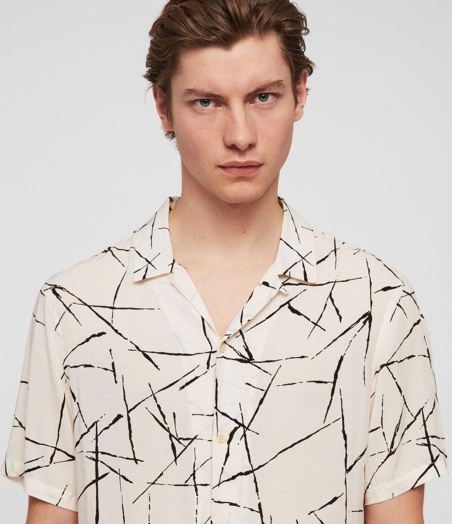Hombres Camisa Burma (ecru_white) - Image 2