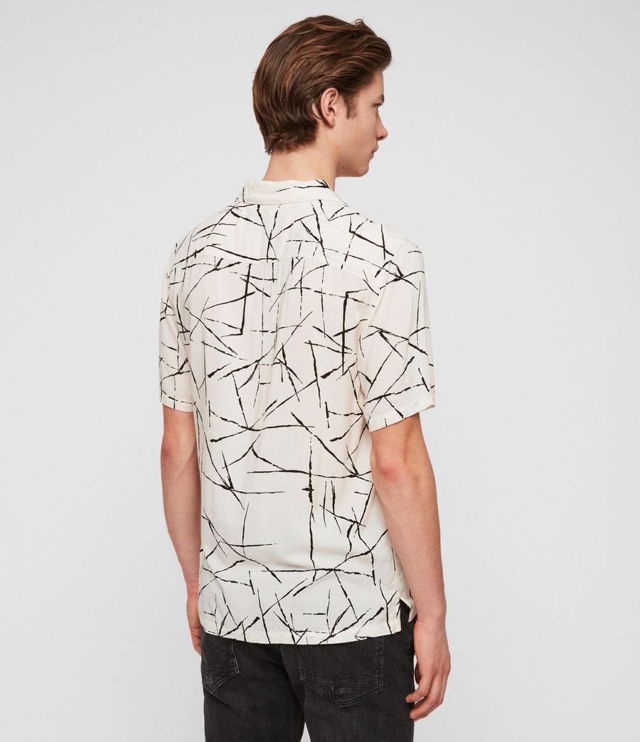 Hombres Camisa Burma (ecru_white) - Image 5