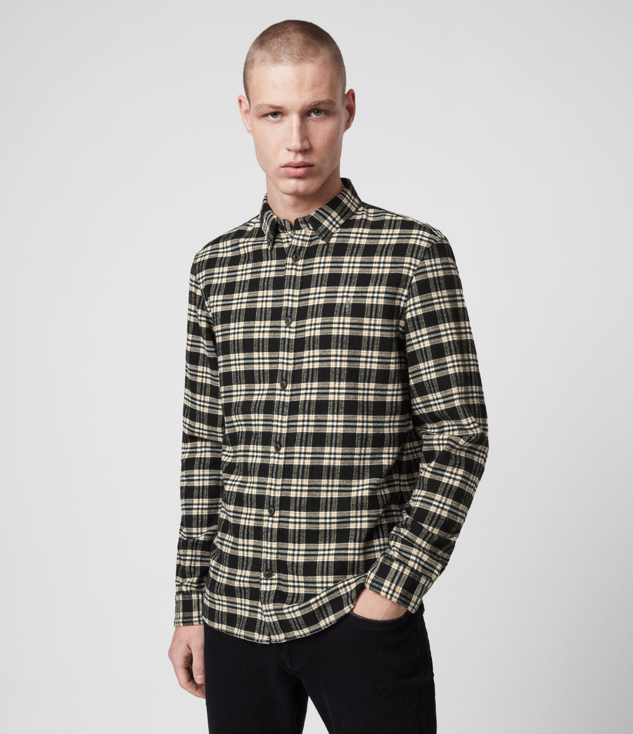Herren Ridgewood Ls Hemd (black) - Image 1