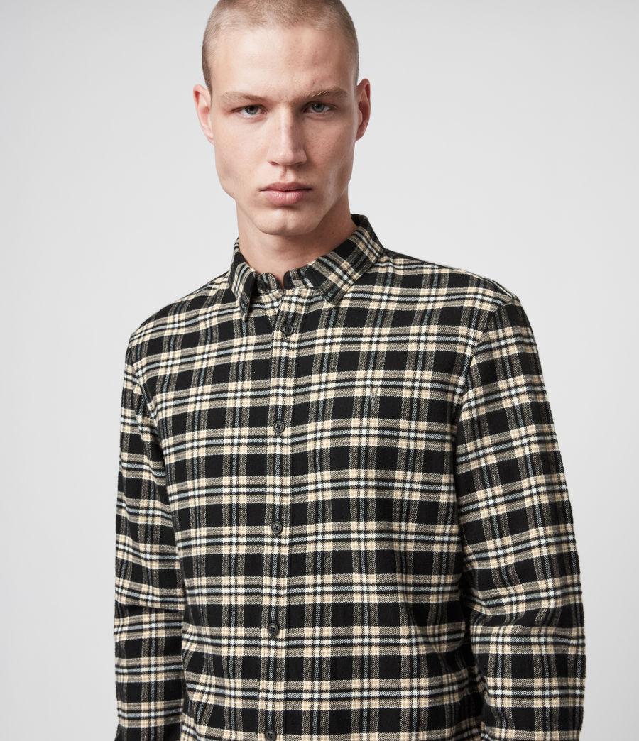 Mens Ridgewood Shirt (black) - Image 2