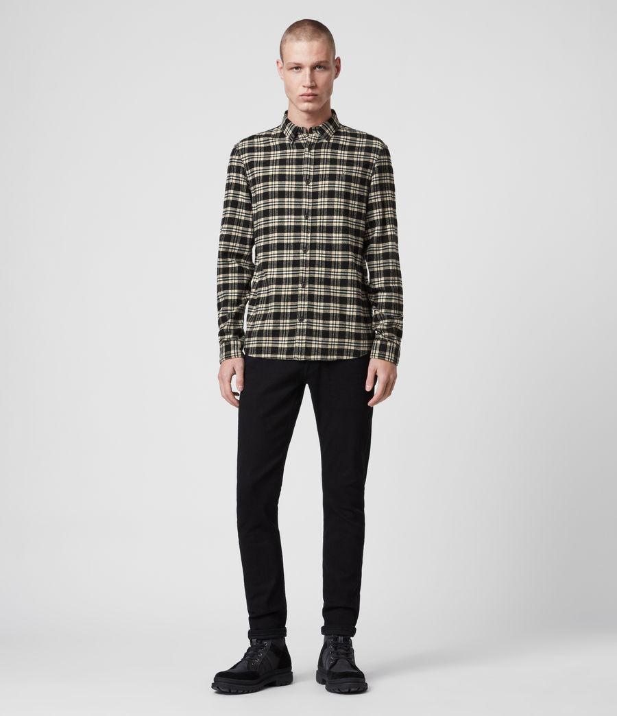 Mens Ridgewood Shirt (black) - Image 3