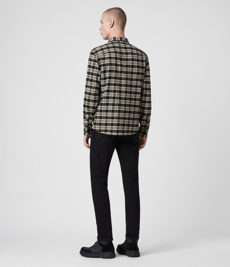 Herren Ridgewood Ls Hemd (black) - Image 4