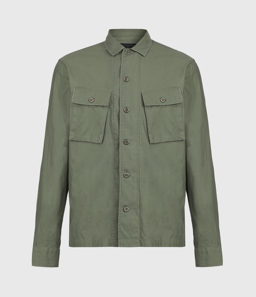 Mens Troop Shirt (khaki_green) - Image 2