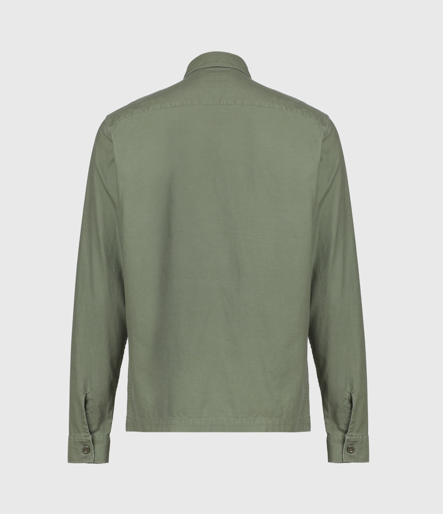 Mens Troop Shirt (khaki_green) - Image 3