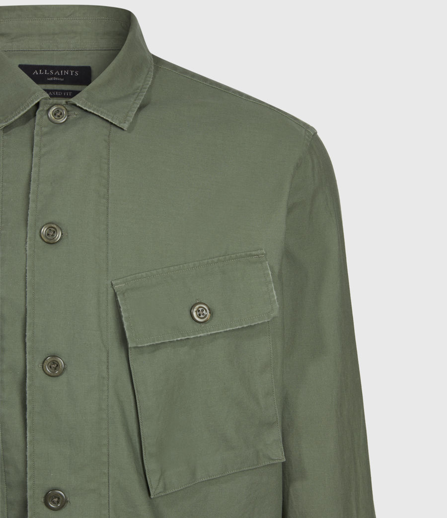 Mens Troop Shirt (khaki_green) - Image 5