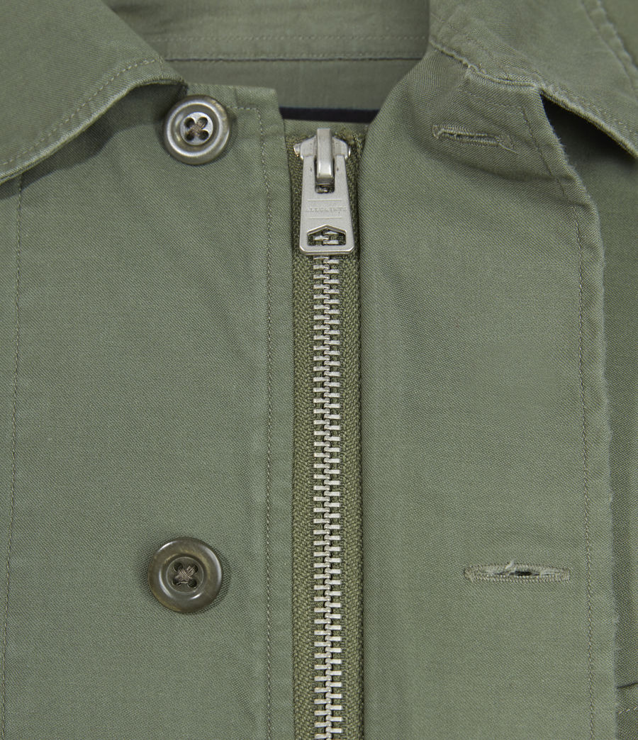 Mens Troop Shirt (khaki_green) - Image 6