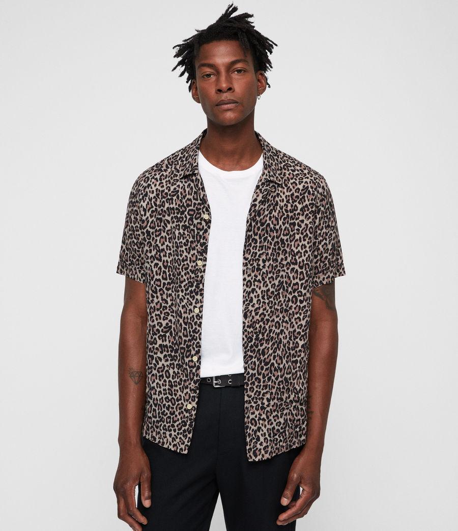 Hombres Leopardtone Shirt (leopard) - Image 1