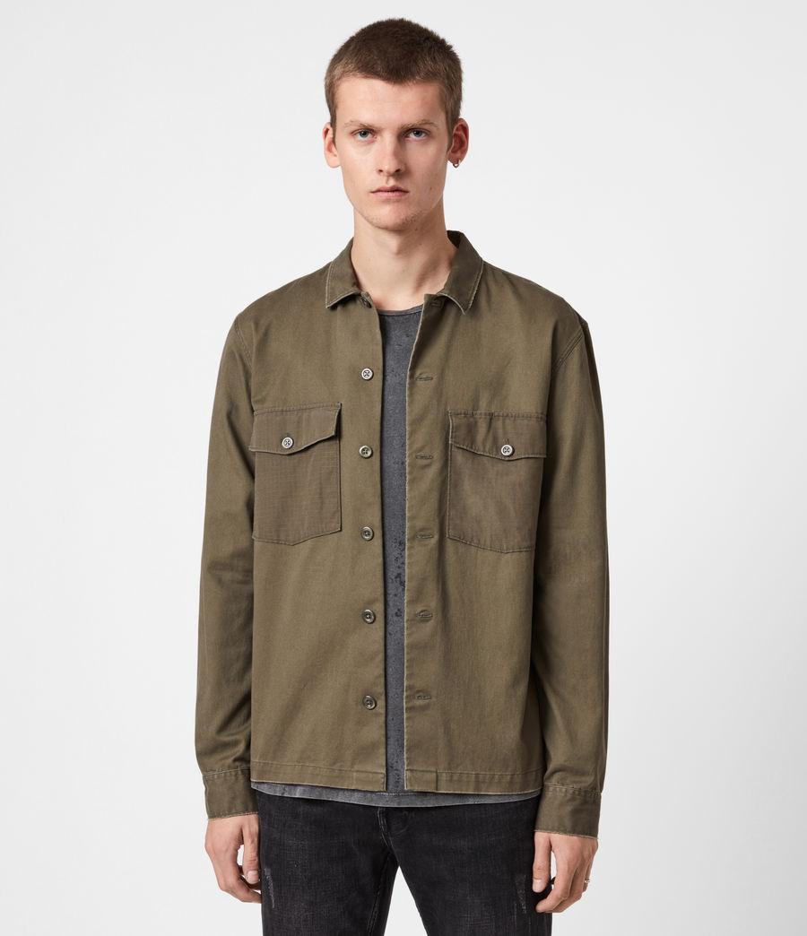 Men's Territory Shirt (cargo_green) - Image 1