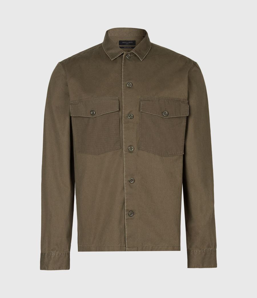 Herren Territory Shirt (cargo_green) - Image 2
