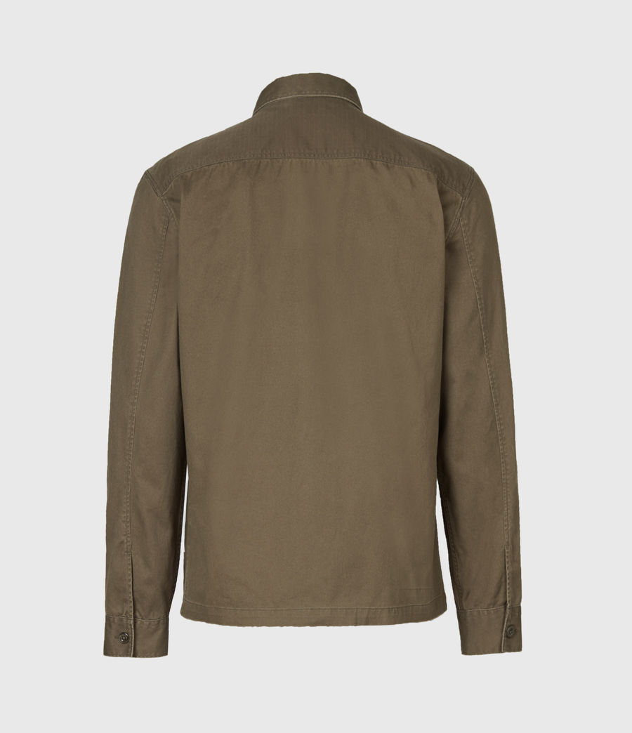 Herren Territory Shirt (cargo_green) - Image 3