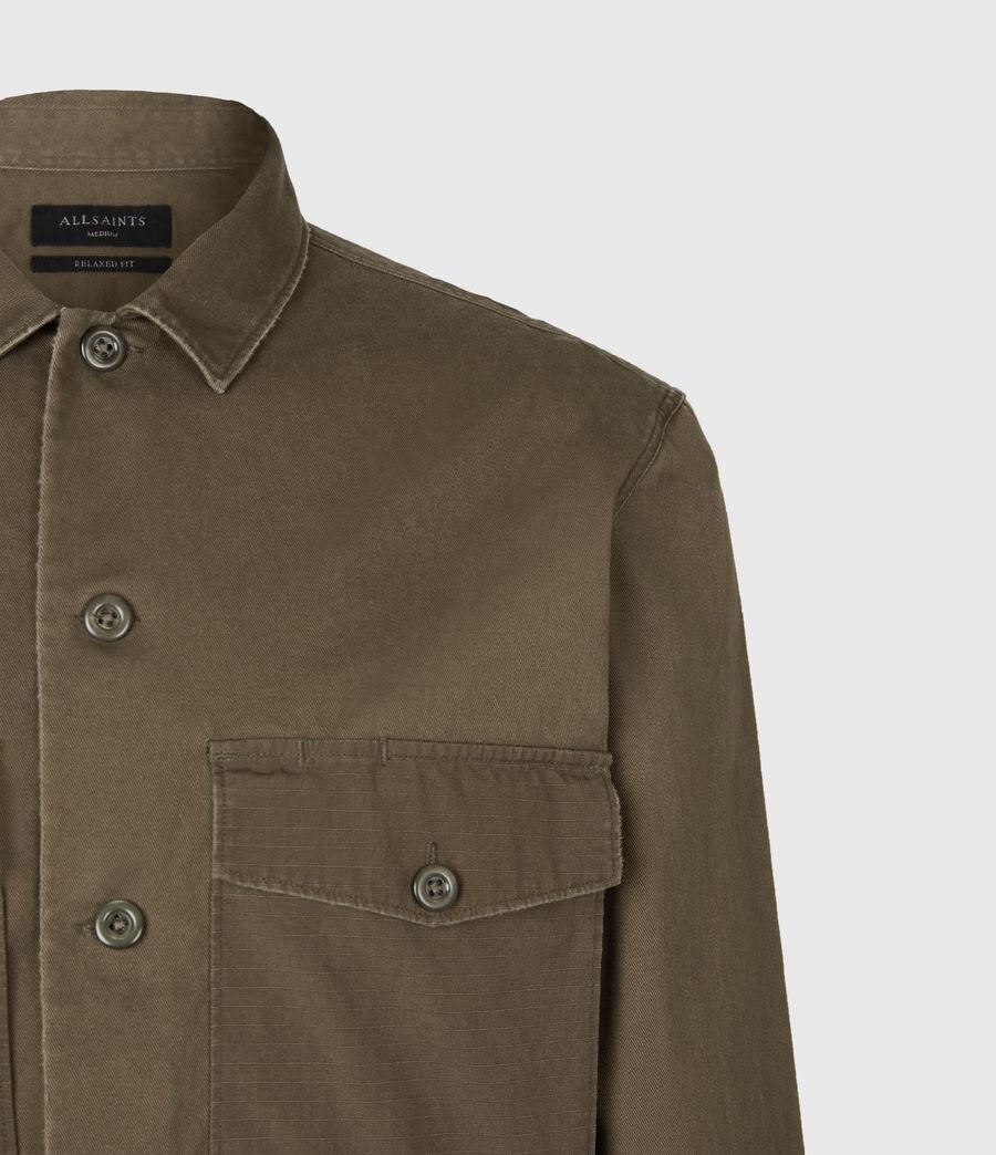 Men's Territory Shirt (cargo_green) - Image 5