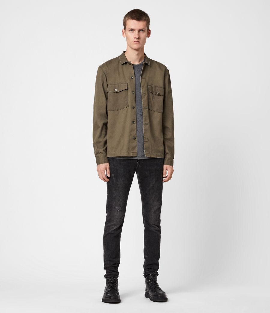 Men's Territory Shirt (cargo_green) - Image 6